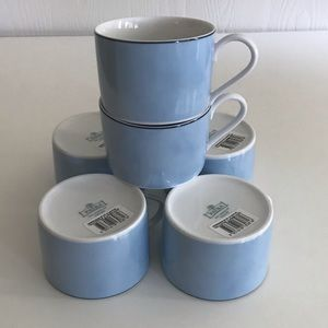 Patra Fine Porcelain Coffee Tea Cups
